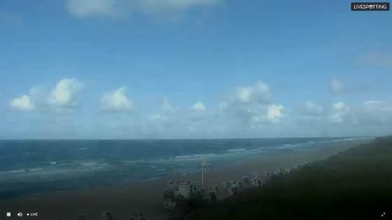 Webcam zeigt Live Bilder vom Rantumer Strand