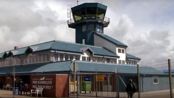 Flughafen Westerland Webcam