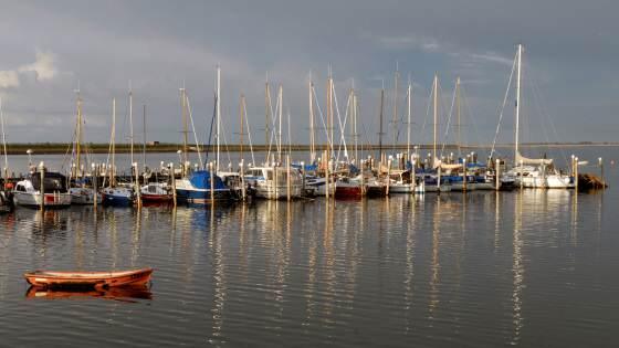 Hafen am Rantumbecken