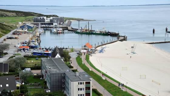 Live Kamera vom Hörnumer Leuchtturm zeigt Bilder vom Meer und Ort