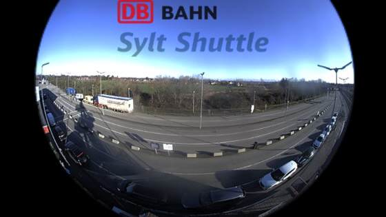 Syltshuttle Verladestation Niebüll