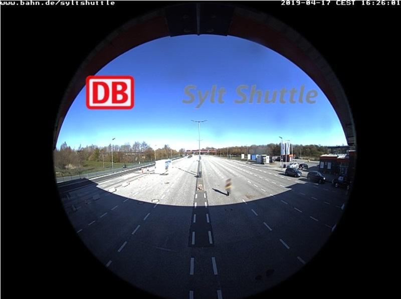 Syltshuttle Webcam Kassenbereich Niebüll