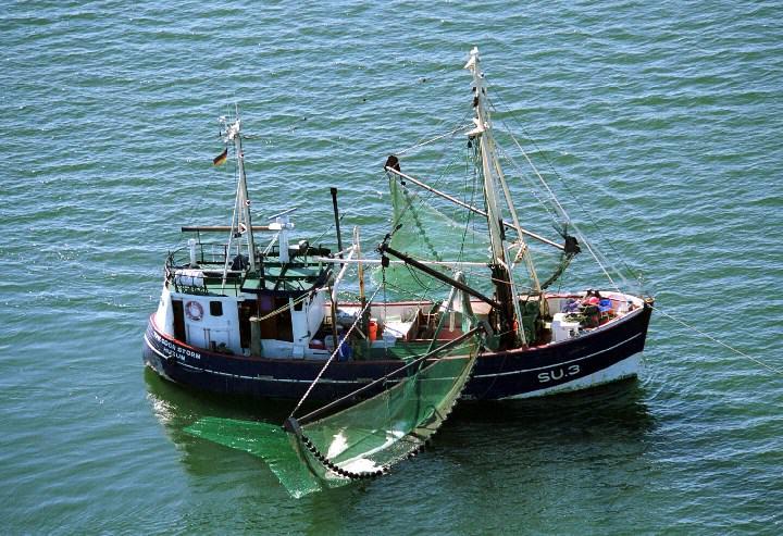 Fischkutter vor Sylt