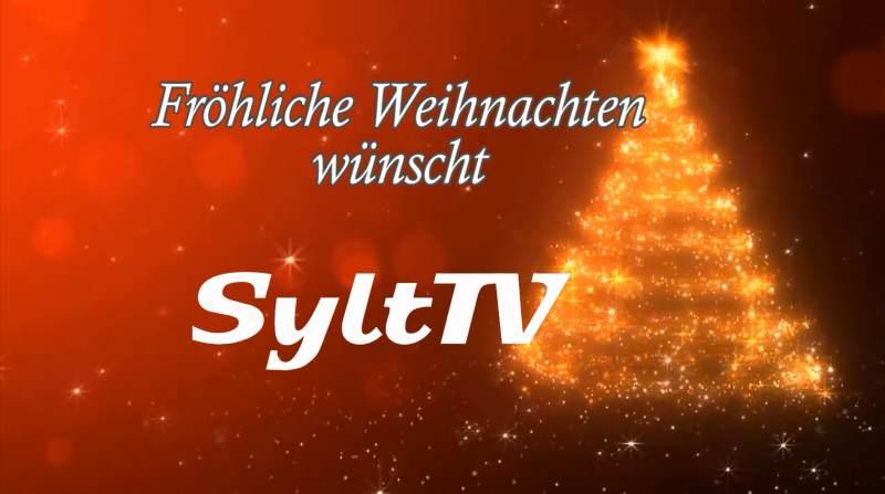 Fröhliche Weihnachten wünscht Sylt TV