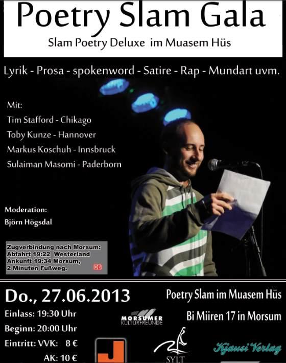 Poetry Slam Gala Morsum