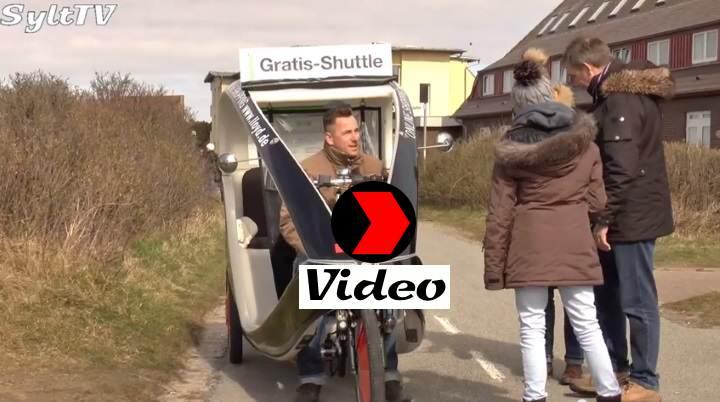 Die Fahrradrikschas auf Sylt