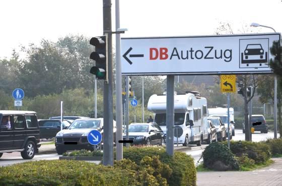 Wartezeiten bei der Rückreise mit dem Auto über den Hindenburgdamm sind wahrscheinlich
