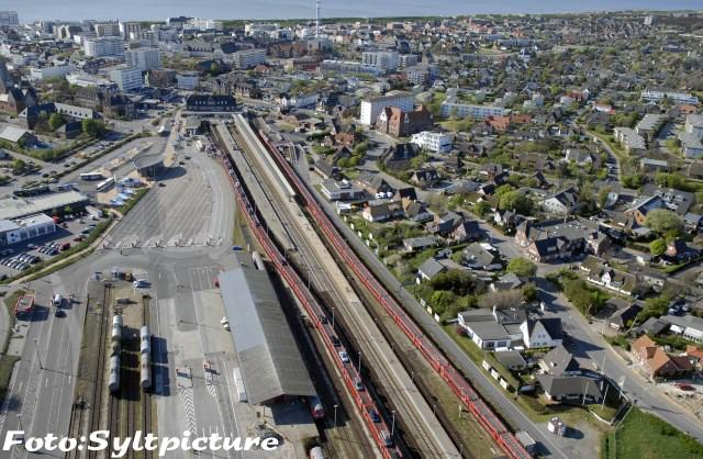 Autozug Verladestation Westerland