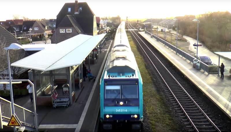Die Marschbahnstrecke von/nach Sylt soll durchgängig zweigleisig werden