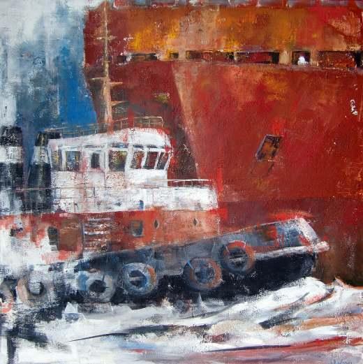 "Maritime Kunst in der ""Alten Post"" in Westerland"