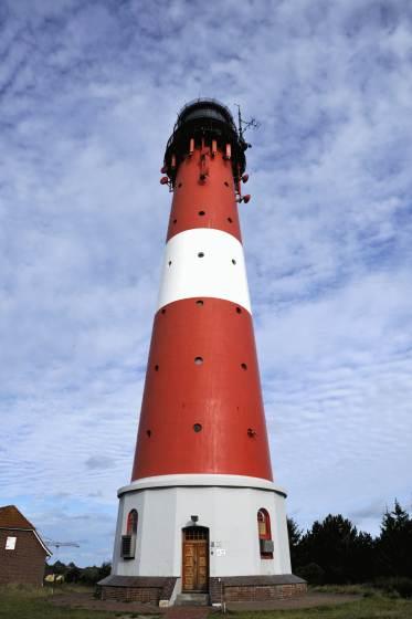 Das Wahrzeichen von Hörnum, der Leuchtturm