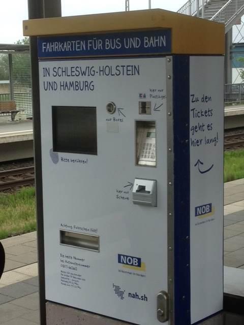 NOB mit neuer Servicenummer und frischem Automaten-Design