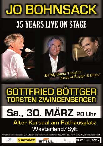 Sylt swingt mit Jo Bohnsack, Gottfried Böttger & Torsten Zwingenberger
