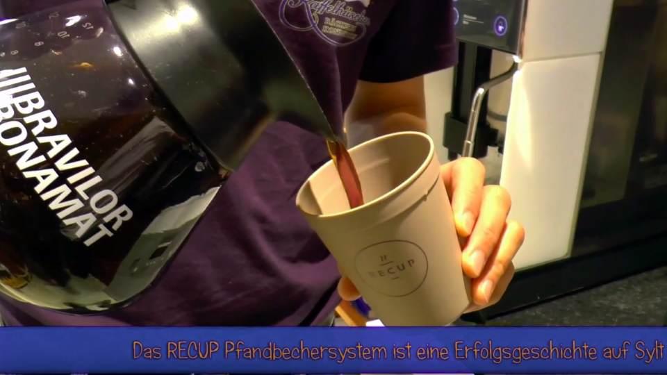 Der reCup Becher feiert auf Sylt eine Erfolgsgeschichte