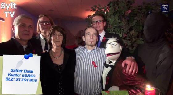 Zum Welt-Aids-Tag fand auf Sylt wieder die Aids-Gala statt