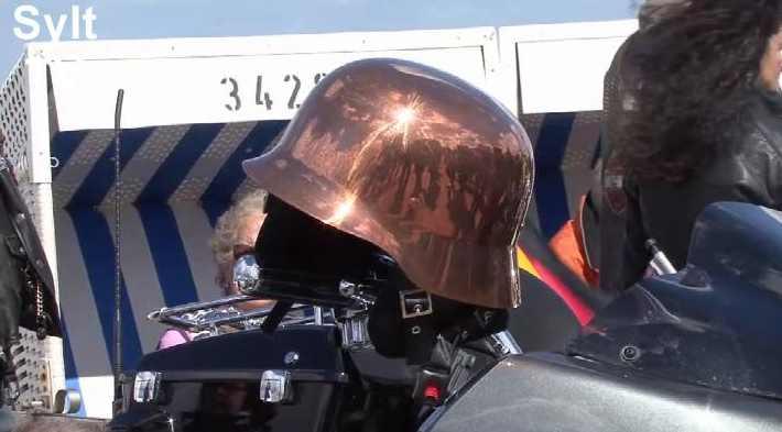 Harley Show auf der Promenade + Ausfahrt auf Sylt