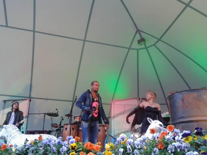 Mark Medlock Konzert in der Musikmuschel