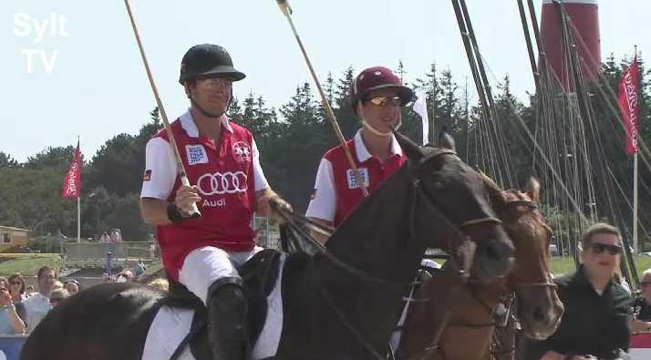 Beach Polo Sieger auf Sylt