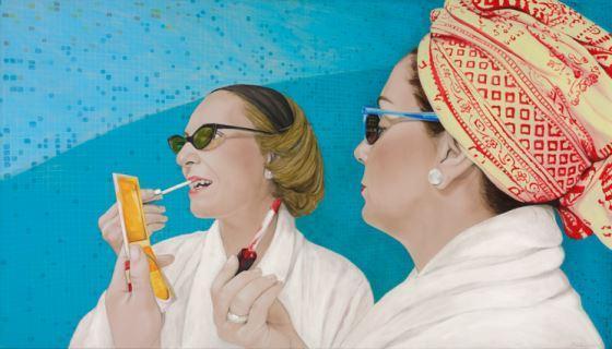Sommerausstellung der Sylt Kunstfreunde zeigt unbeschwerte Strandtage