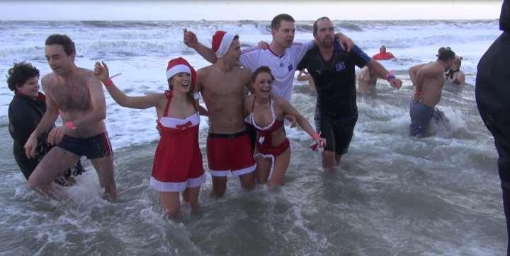 Weihnachtsbaden Sylt 2012