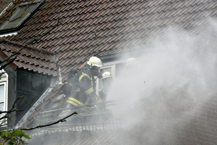 Dachstuhlbrand auf Sylt