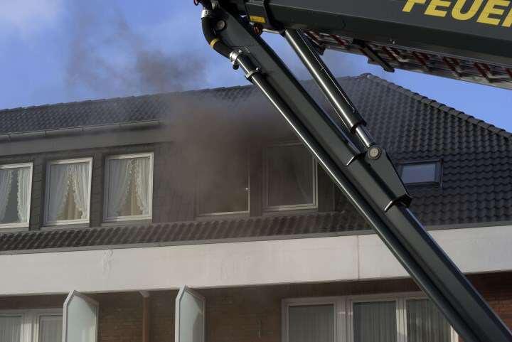 Brand in der Kampstraße