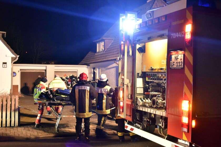 Brand in Westerland auf Sylt