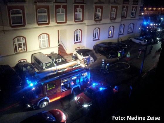 Feuer im Hotel Miramar in Westerland auf Sylt