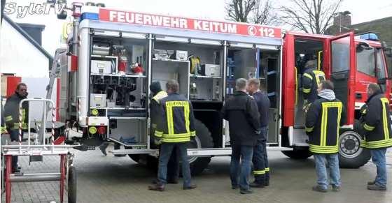 Neues Löschfahrzeug für die Freiwillige Feuerwehr Keitum