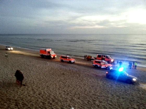 Hörnumer Feuerwehr bei Strandeinsatz