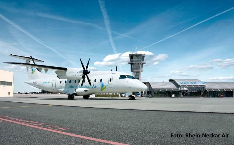 Mit Rhein-Neckar Air von Mannheim nach Sylt