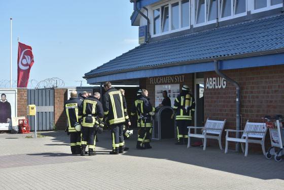 Die Feuerwehr war blitzschnell vor Ort