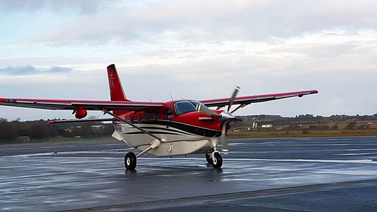 Erste Landung von yourways auf Sylt