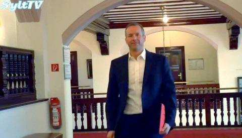 Amtsantritt als Bürgermeister der Gemeinde Sylt