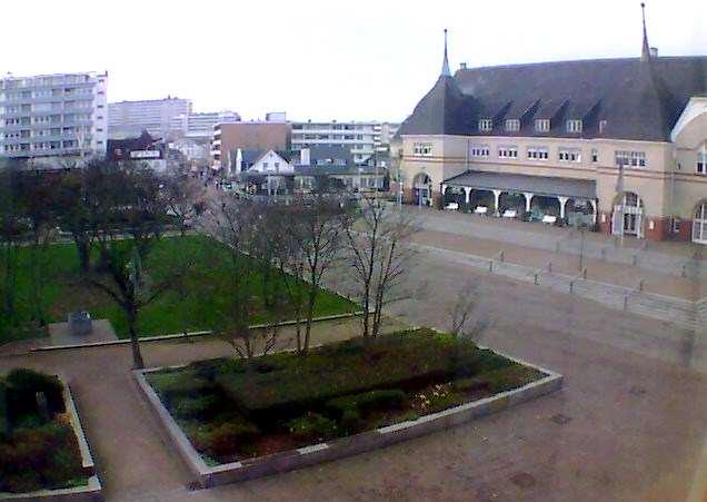 Webcam der Gemeinde Sylt zeigt Rathausvorplatz