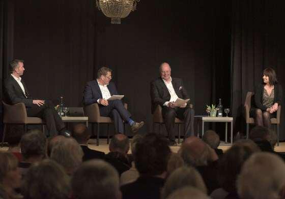Diskussion im Friesensaal mit den Bürgermeisterkandidaten