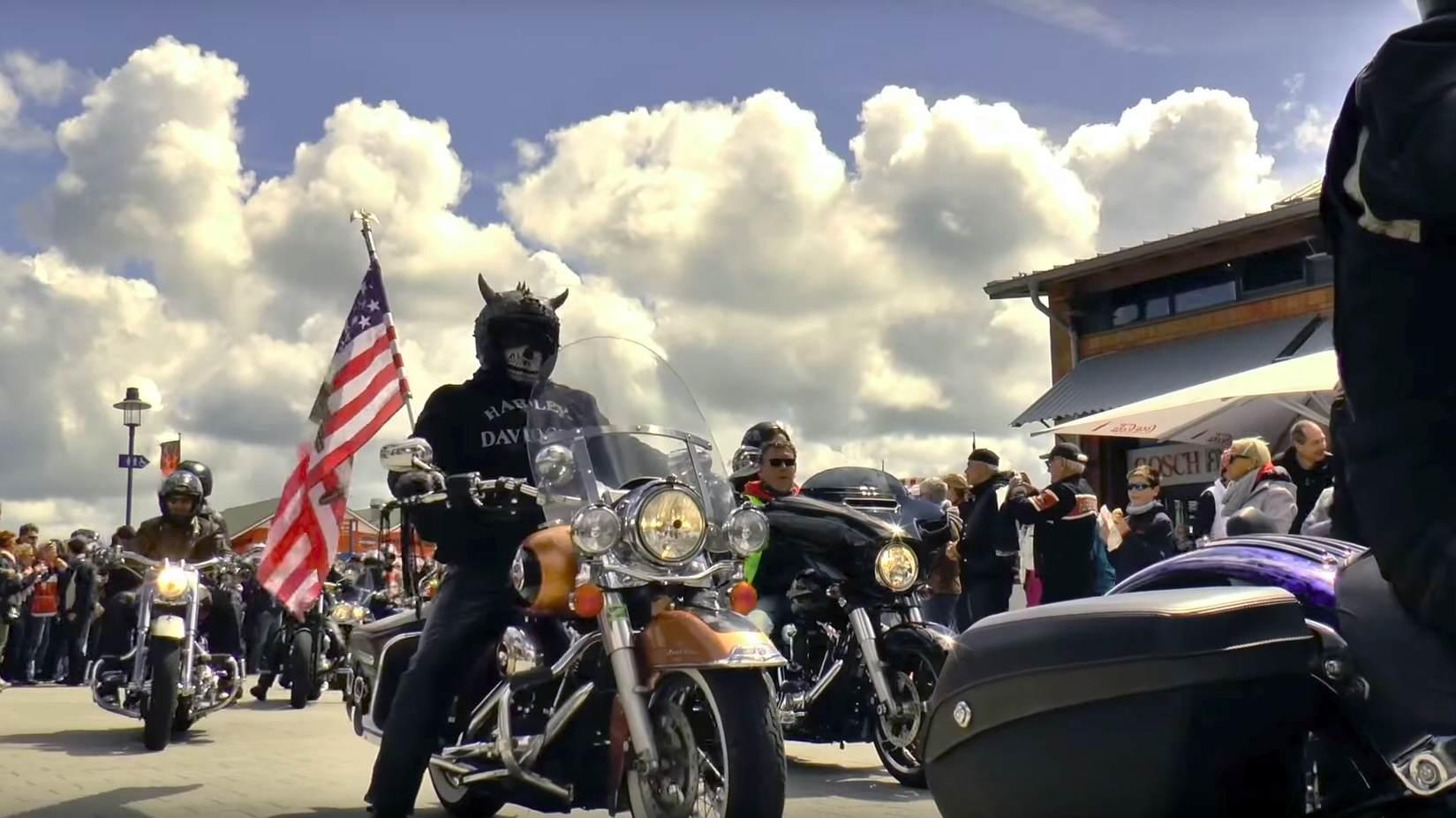 Harley Treffen Sylt 2018