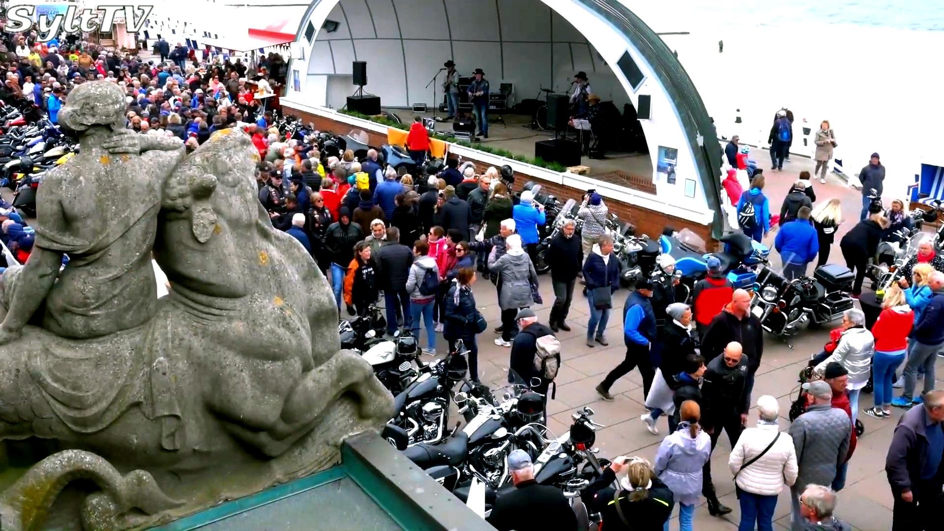 Super Stimmung herrschte wieder auf der Westerländer Promenade