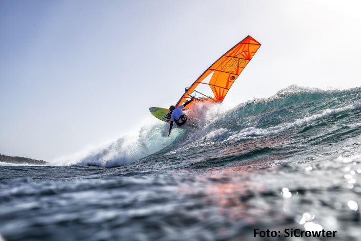 Sylter Windsurfer Christopher Bünger