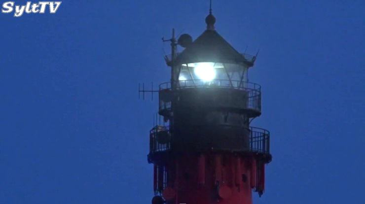 Der Hörnumer Leuchtturm bekommt 2019 einen frischen Anstrich