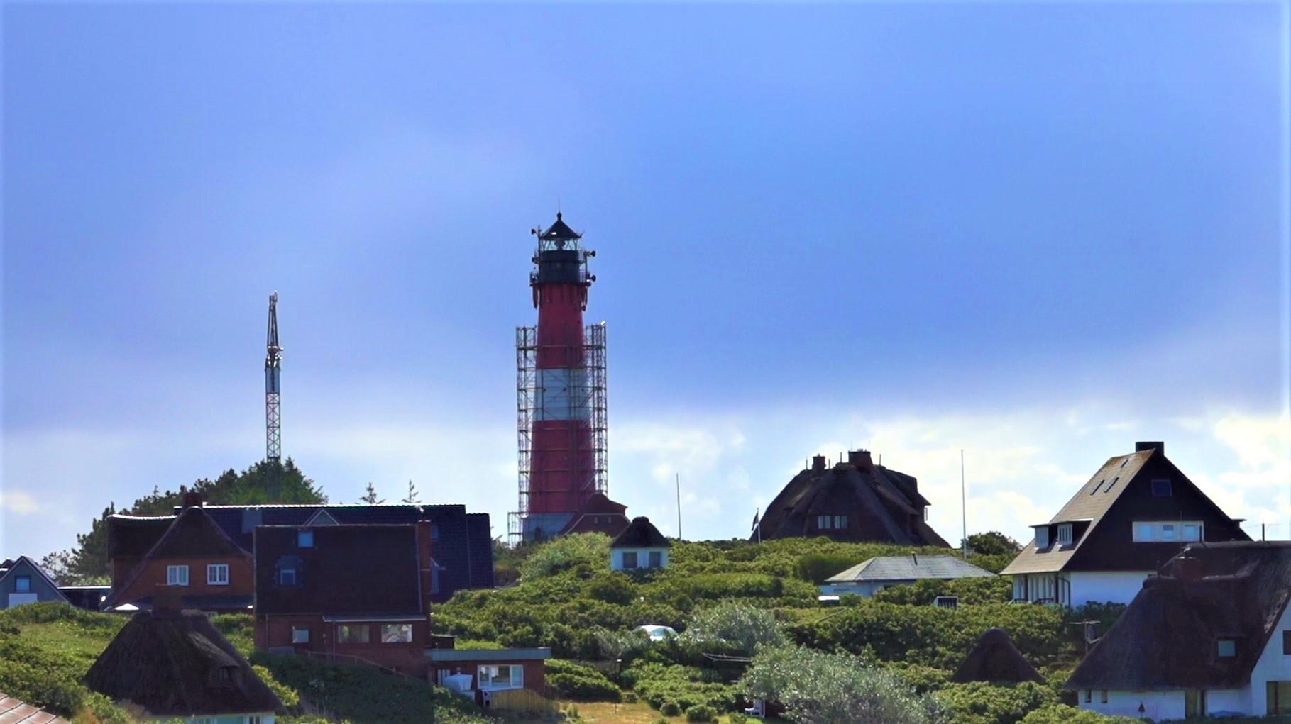 Sylts Mobilfunkempfang durch Leuchtturm-Sanierung beeinträchtigt