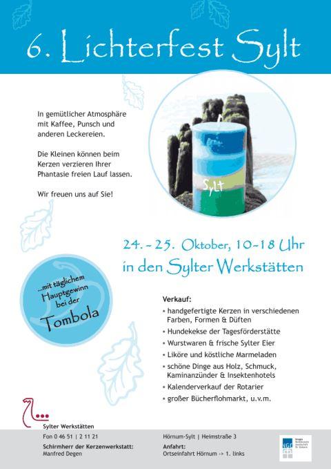 Lichterfest Sylt findet 2013 letztmalig in Hörnum statt