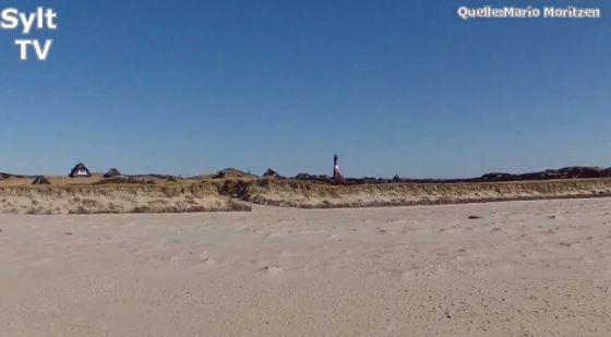 Quadrocopter Flug mit GoPro auf Sylt