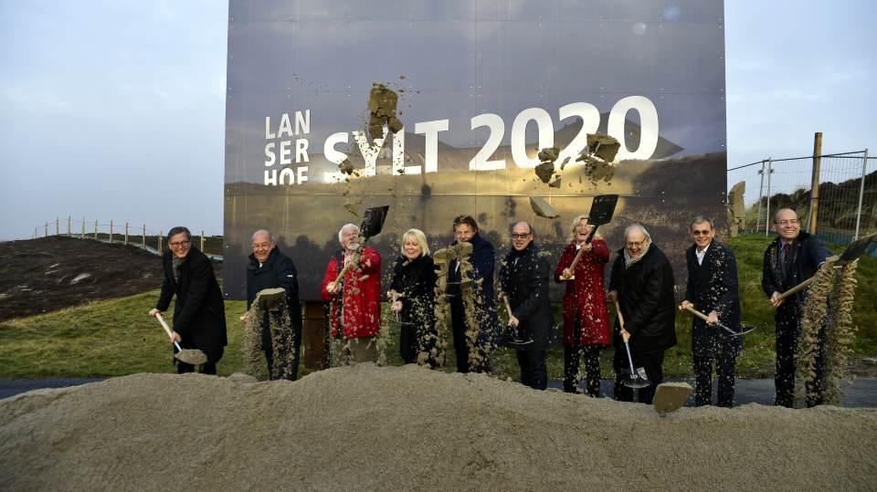 Der Spatenstich zum Lanser Hof Sylt erfolgte am 29. November 2017