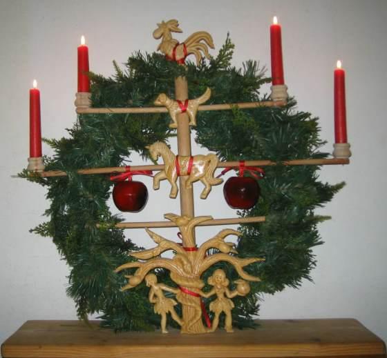 Jöölboom der Sylter Weihnachtsbaum