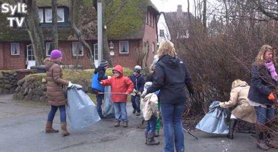 Müll sammeln für ein sauberes Sylt und Schleswig-Holstein