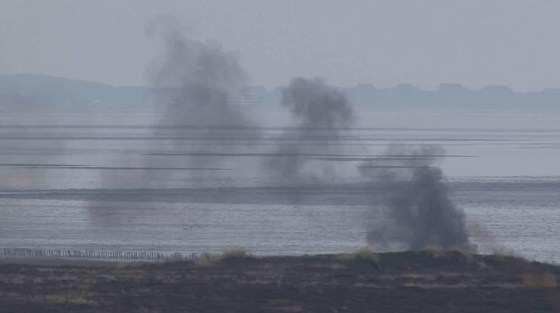 Fliegerbomben auf Sylt gesprengt