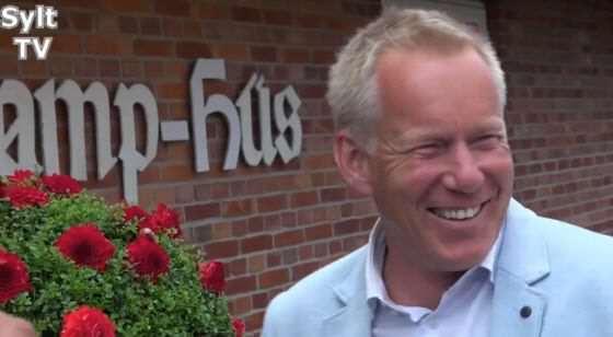 Johannes B. Kerner in Kampen auf Sylt zu Gast