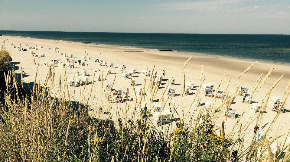 Kampener Strand im Sylt Sommer 2016