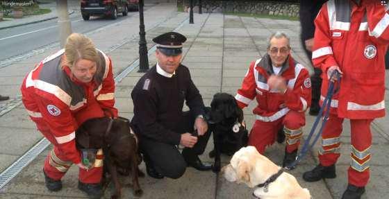 Sylter Feuerwehren + Rettungsdienste bekamen Sauerstoffmasken für Tiere